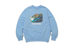thisisneverthat Mountain Crewneck - Ice