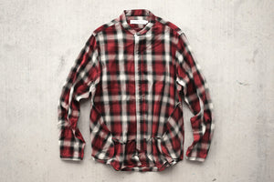Mr.Completely Banded Shirt - Red Shadow