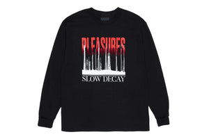 Pleasures Mirrors Long Sleeve Tee - Black