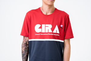 Nike x Gyakusou Running Top S/S - Sport Red