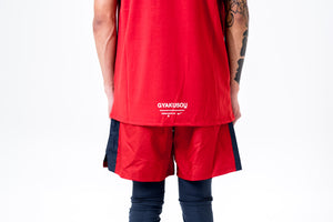 Nike x Gyakusou T-Shirt - Sport Red/Thunder Blue