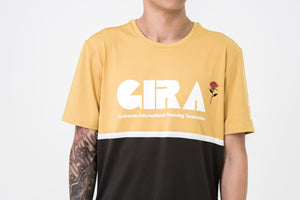 Nike x Gyakusou Short Sleeve Run Top - Mineral Yellow