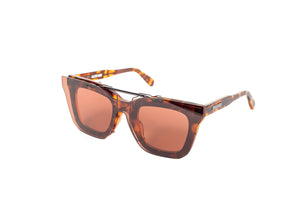 Native Sons / sacai 'Cornell' Shield Set - Brown Tort / White Gold / Dusty Rose