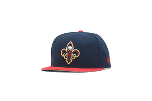 New Era New Orleans Pelicans 2Tone 9Fifty Snapback - Navy/Red