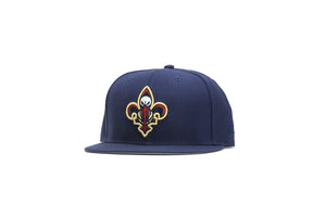 New Era New Orleans Pelicans 2Tone 9Fifty Snapback - Navy/Navy/Grey