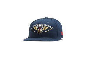 New Era New Orleans Pelicans Team Color 59Fifty Fitted - Navy/Grey