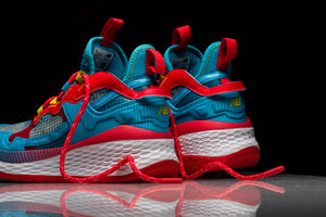 WMNS New Balance WTRP2CR - Energy Red/Bayside/Sulphur Yellow