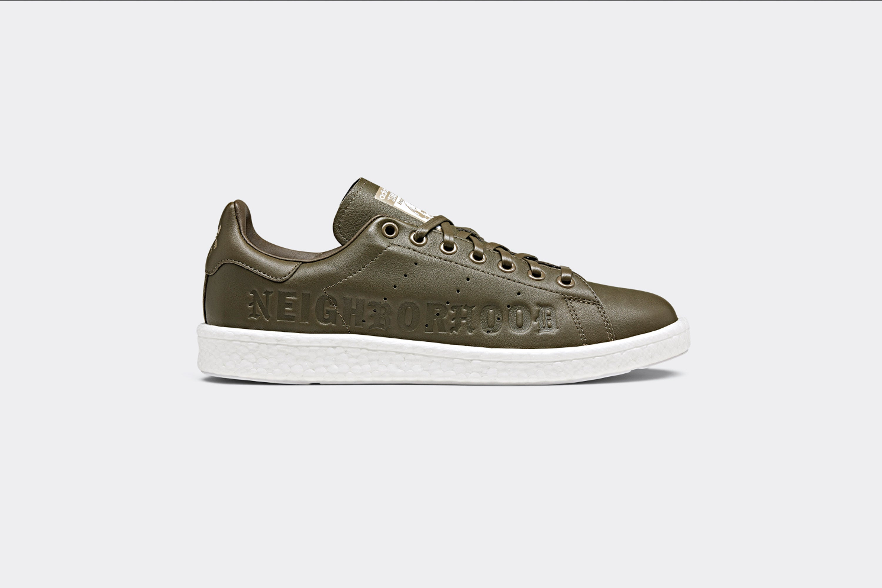 premium selection 2e6dd b4b21 Neighborhood x adidas Originals 'Survival' Stan Smith Boost