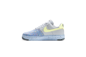 Nike Air Force 1 Crater - Pure Platinum/Barely Volt