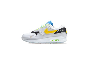 Nike Air Max 1 - White/Speed Yellow/Black
