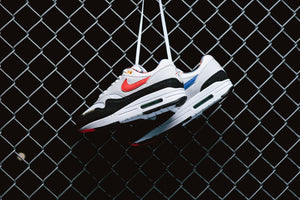 Nike Air Max 1 - White/Chile Red/Photon Dust