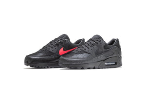 Nike Air Max 90 QS 'Infrared Blend' - Black/Black/Infrared/White