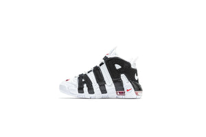 Nike Air More Uptempo (PS) - White/Black/University Red
