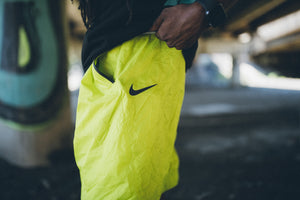 Nike Sportwear Tech Pack Shorts - Bright Cactus/Black