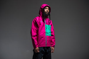 Nike ACG Packable Rain Jacket - Sport Fuchsia/Orange Pulse