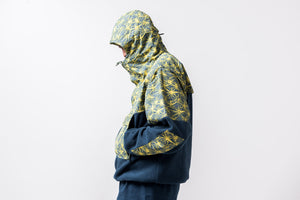 Nike ACG Fleece Anorak - Valerian Blue/Tour Yellow