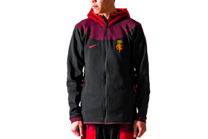 Nike x Clot NRG GE Hoodie - Black / University Red / Night Maroon