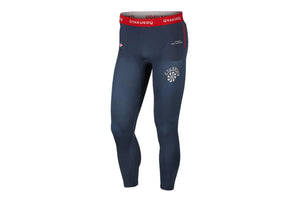 Nike x Gyakusou Helix Tights - Thunder Blue/Sport Red