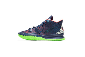 Nike Kyrie 7 -  Midnight Navy/Lagoon Pulse/Bright Mango