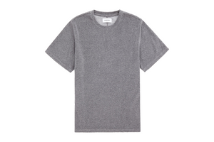 Ovadia & Sons 'Velour' Plush T-Shirt - Heather Grey