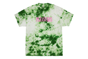Pleasures Aroma Crystal Dye Shirt - Natural Green