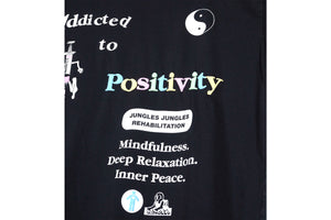 Jungles Add To Positivity Tee - Black