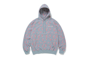 thisisneverthat Paisley Hooded Sweatshirt - Sky Blue