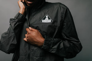 Pleasures Brick Tech Track Jacket - Black