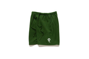 Politics Every Days Shorts - Green/White