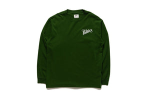 Politics Every Days T-Shirt L/S - Green/White