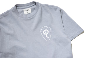 Politics Camping 'Parks Over Politics' Tee - Grey/White