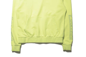 Politics Mini P Logo Hoodie - Pigment Lime/Blue
