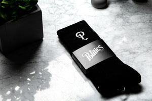 Politics Core P Logo Socks - Black