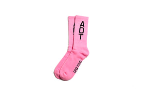 Politics Core AOT Socks - Pink