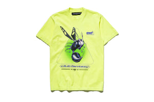 Club Fantasy x Politics Adrenaline Junkies Tee - Yellow