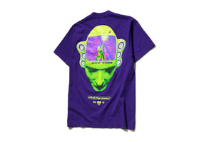 Club Fantasy x Politics MP3 Tee - Purple