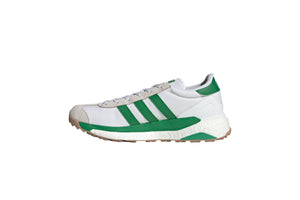 Adidas x Human Made Country Shoes - Cloud White/Green/Off White