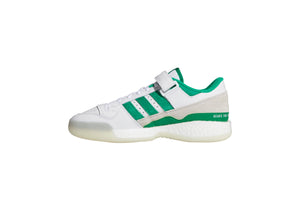 Adidas x Human Made Forum Shoes - Cloud White/Green/Off White
