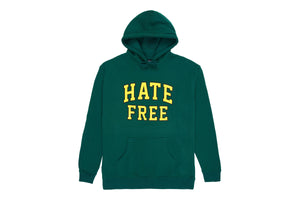 Pleasures Hate Free Hoodie - Forest Green