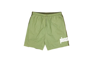 Pleasures Electric Active Shorts - Green