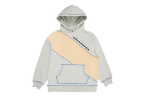 Pleasures Collapse Hoodie - Heather Grey