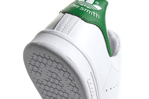 Adidas Stan Smith (Grade School) - Cloud White/Green