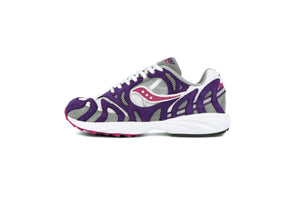 Saucony Grid Azura 2000 - White/Purple/Grey