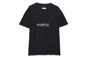 Purple Brand Relaxed Fit Tee Square - Black