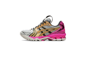 WMNS UB1-S Gel-Kayano 14 - Oyster Grey/Pink Glo