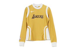 WMNS Nike x Ambush NBA Lakers Long Sleeve Top - Yellow