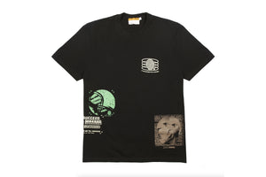 INDVLST Cubism Allover Tee - Black