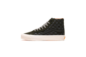 Vans Vault x Porter UA OG Sk8-Hi LX - Night/Black ink/Orange