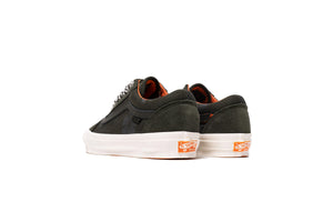 Vans Vault x Porter UA OG Old Skool LX - Forest Night/Black ink/Orange
