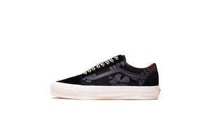 Vans Vault x Porter UA OG Old Skool LX - Black/Orange